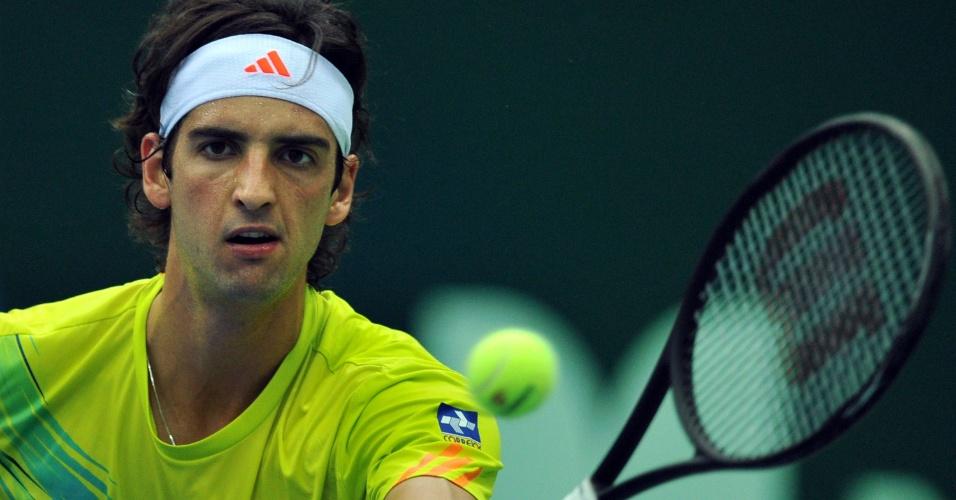 Bellucci voleia em busca de primeira semi em quadra dura em três anos, no ATP de Moscou
