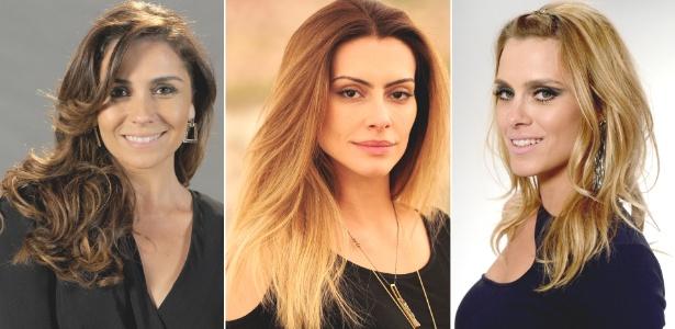 """Giovanna Antonelli, Cléo Pires e Carolina Dieckmann exibem novas cores e cortes em """"Salve Jorge"""""""