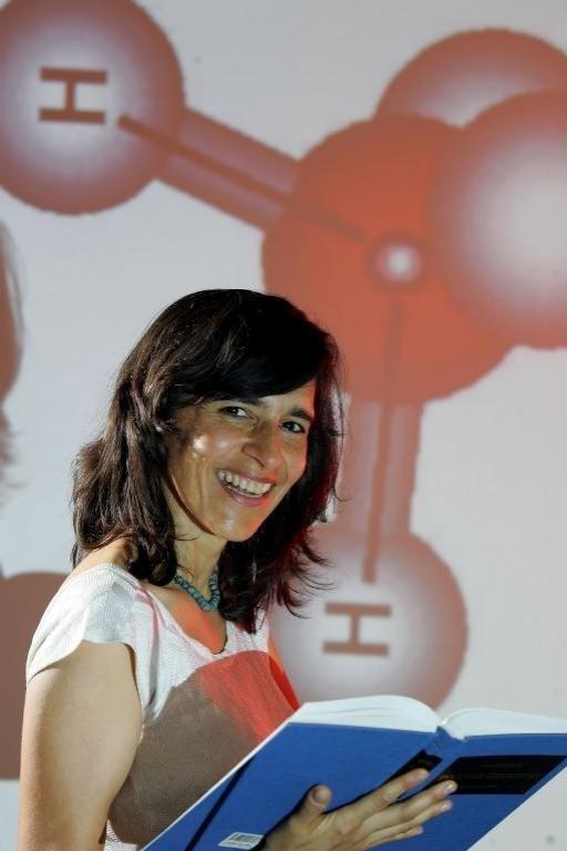 Márcia Barbosa, professora do Instituto de Física da UFRGS, vencedora de prêmio da L'Oreal