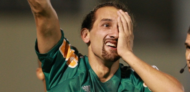 Atacante argentino Hernán Barcos marcou 28 gols pelo Palmeiras no ano passado