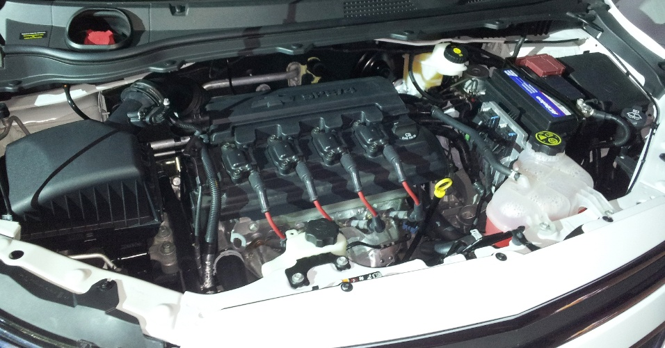 Motor do Chevrolet Onix
