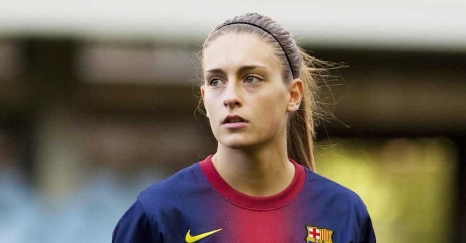 Golazo! Alexia Putellas (Barcelona) beats two defenders & scores v Prainsa Zaragoza