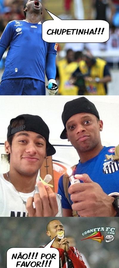 Após perder pênalti contra o Flamengo, Luis Fabiano virou alvo de piadas que o comparavam com com Adauto, personagem da novela