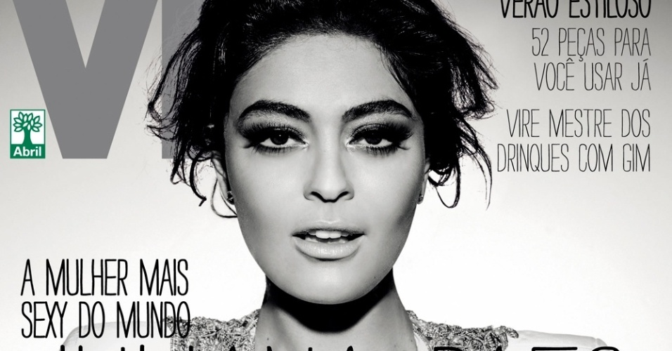 Juliana Paes na capa da revista 