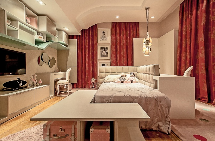 Inspire se em ideias de decoração para quartos de menina  ~ Quarto Rosa De Adolecente