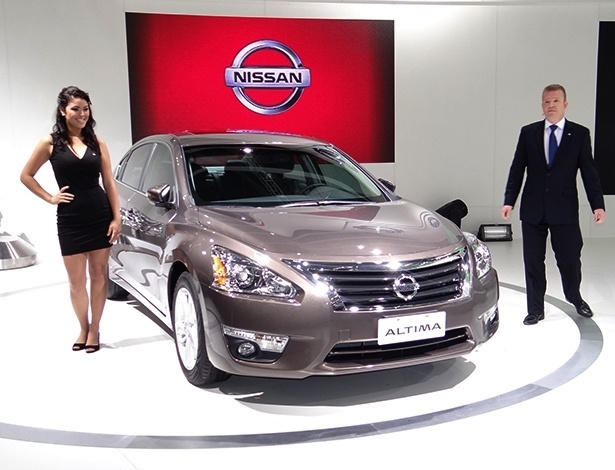 Nissan Altima é apresentado no Salão de São Paulo: sedã mostra que marca quer brigar de verdade