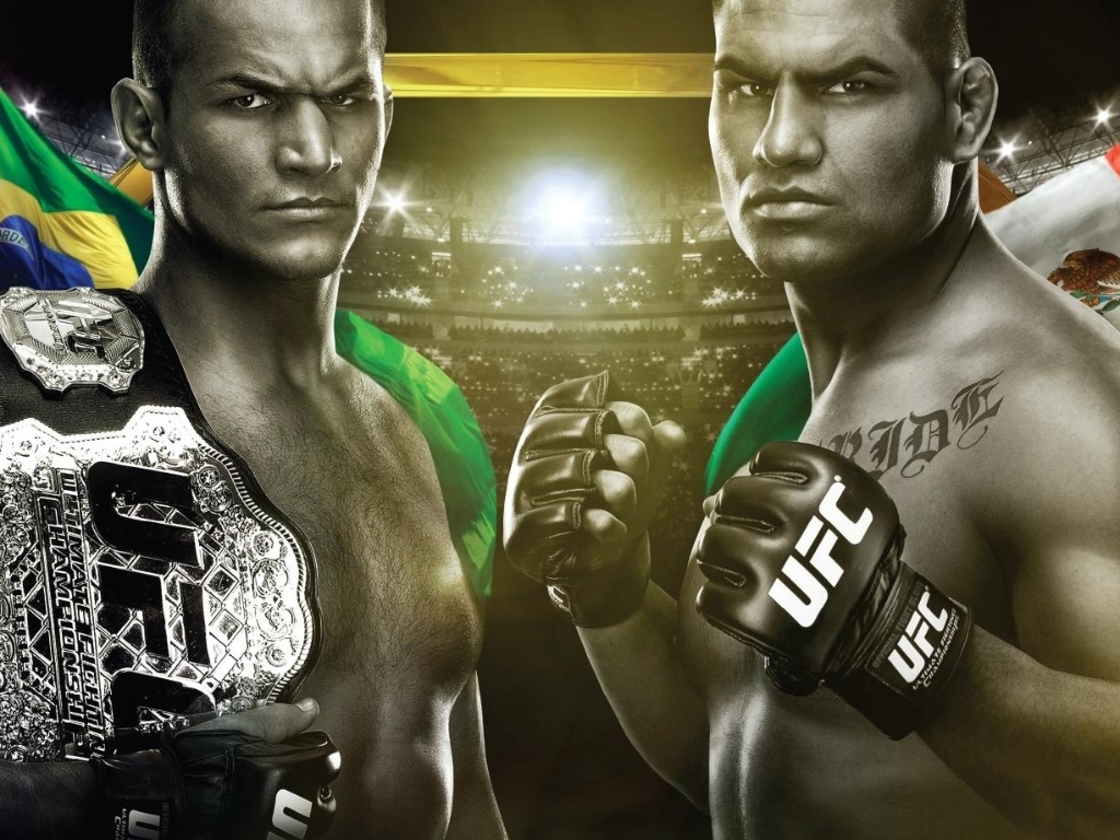 UFC divulga cartaz do UFC 155, que ter a revanche de Cain Velsquez contra o brasileiro Jnior Cigano, campeo dos pesados da organizao