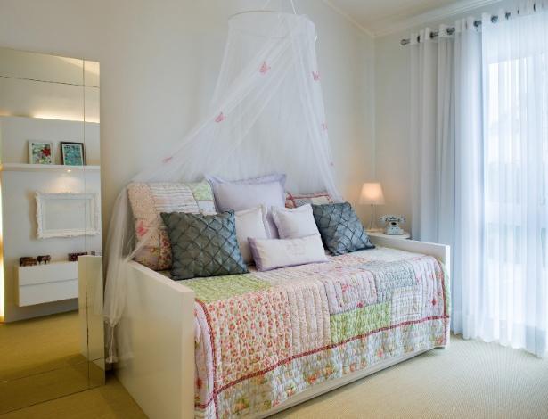 Inspire se em ideias de decoração para quartos de menina  ~ Quarto Pequeno Para Tres Pessoas