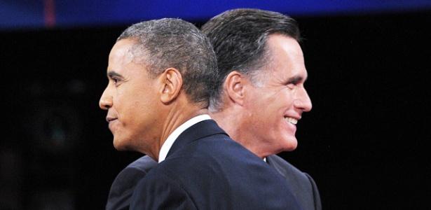 Barack Obama e Mitt Romney se enfrentaram no debate decisivo para as eleições americanas