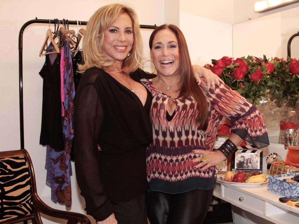 Arlete Salles e Susana Vieira recebem convidados para apresentação especial do espetáculo