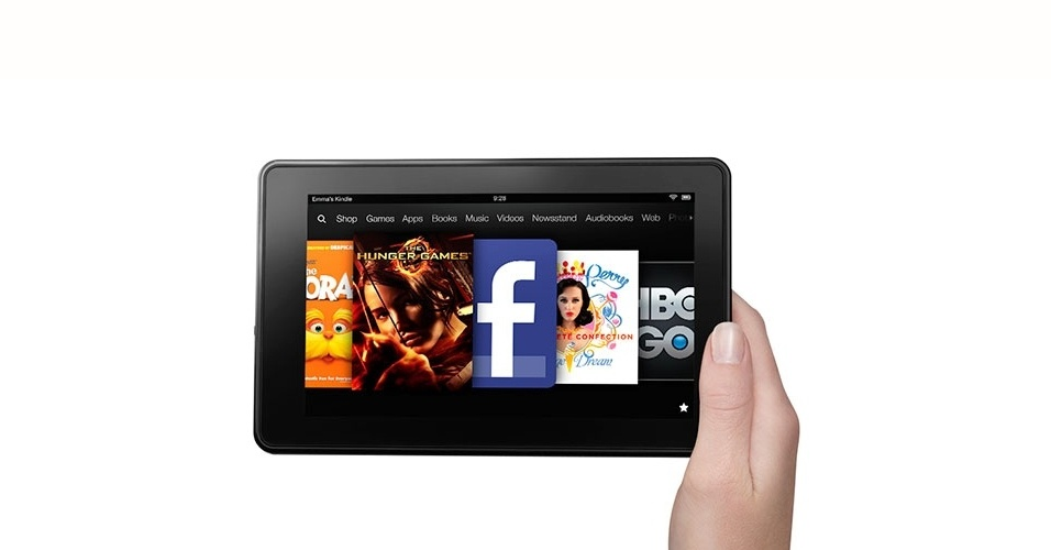 Kindle Fire, da Amazon