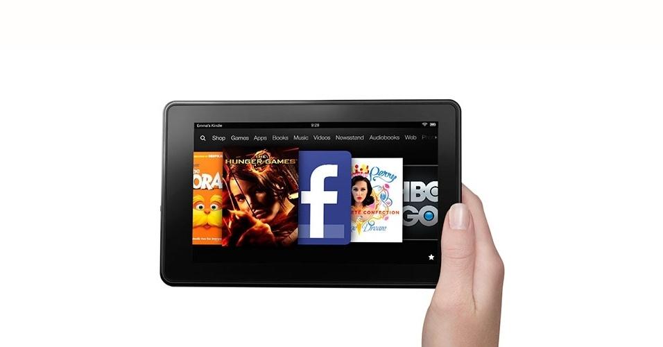 Kindle Fire, da Amazon