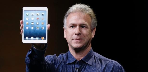 Phil Schiller, da Apple, apresenta versão menor do iPad, chamada de iPad Mini