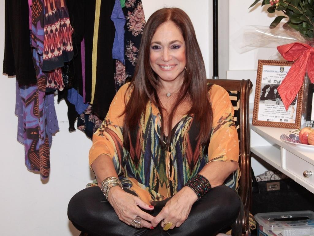 Susana Vieira se prepara para apresentação especial do espetáculo