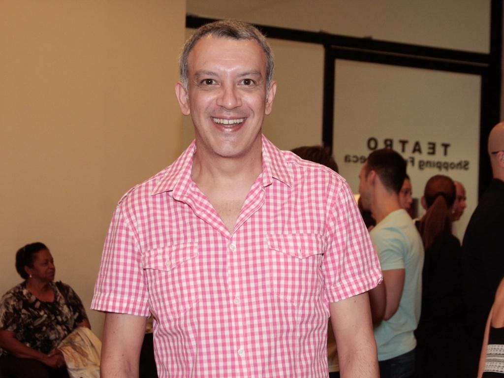 Wilson de Santos prestigia apresentação especial do espetáculo