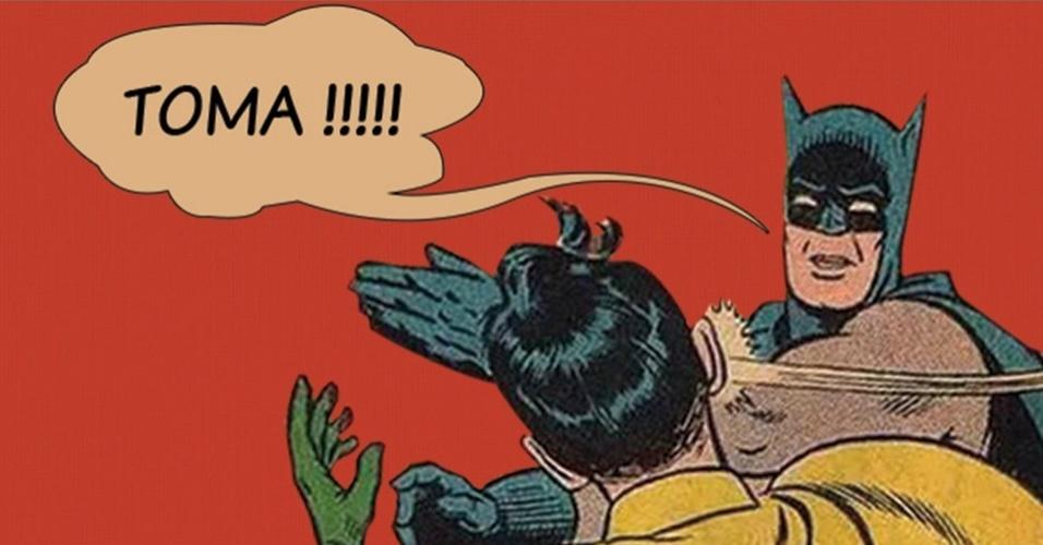 Batman em Robin vira desculpa para broncas no Facebook; veja ...