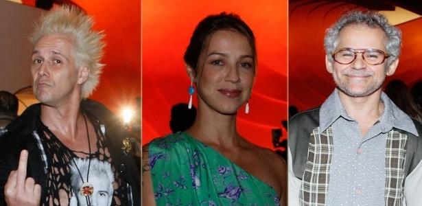 Supla, Luana Piovani e Gero Camilo no Prêmio Trip Transformadores 2012, no Auditório do Ibirapuera, em São Paulo (24/10/12)