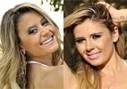 belas da torcida: Vote no 'duelo das loiras' de Coritibae Corinthians