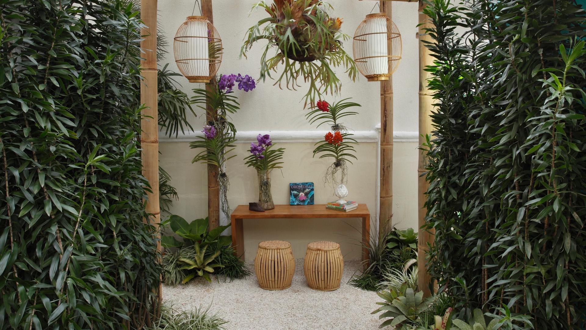 Beco das Orquídeas criado por Ricardo Coelho Portilho Lima. A mostra Morar Mais por Menos RJ segue até dia 4 de novembro de 2012, na Av. Epitácio Pessoa, 4.866, Rio de Janeiro