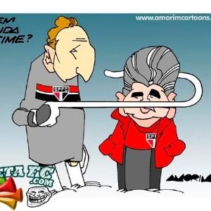 Corneta FC: Diz aí, Rogério, quem manda no time?