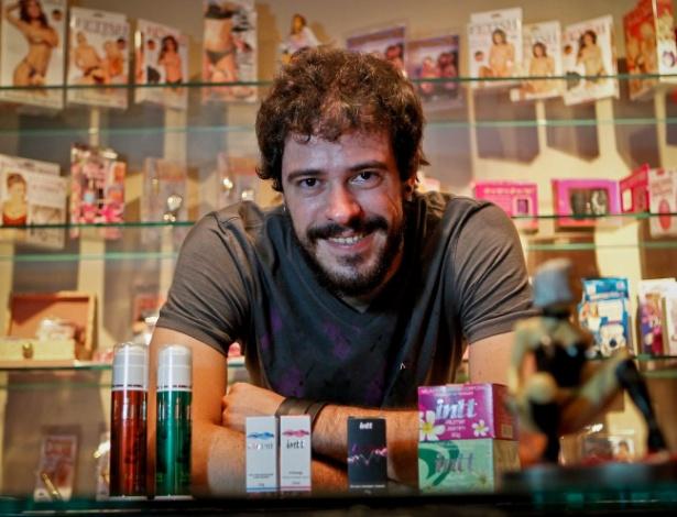 """O publicitário Fernando Birche, que costuma comprar itens eróticos: """"Acho legal surpreender uma mulher"""""""