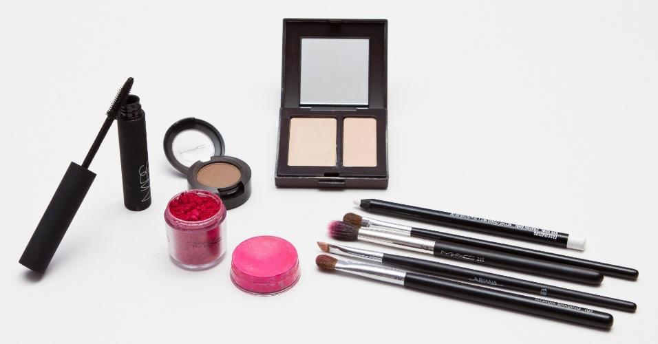 sombra pink - produtos