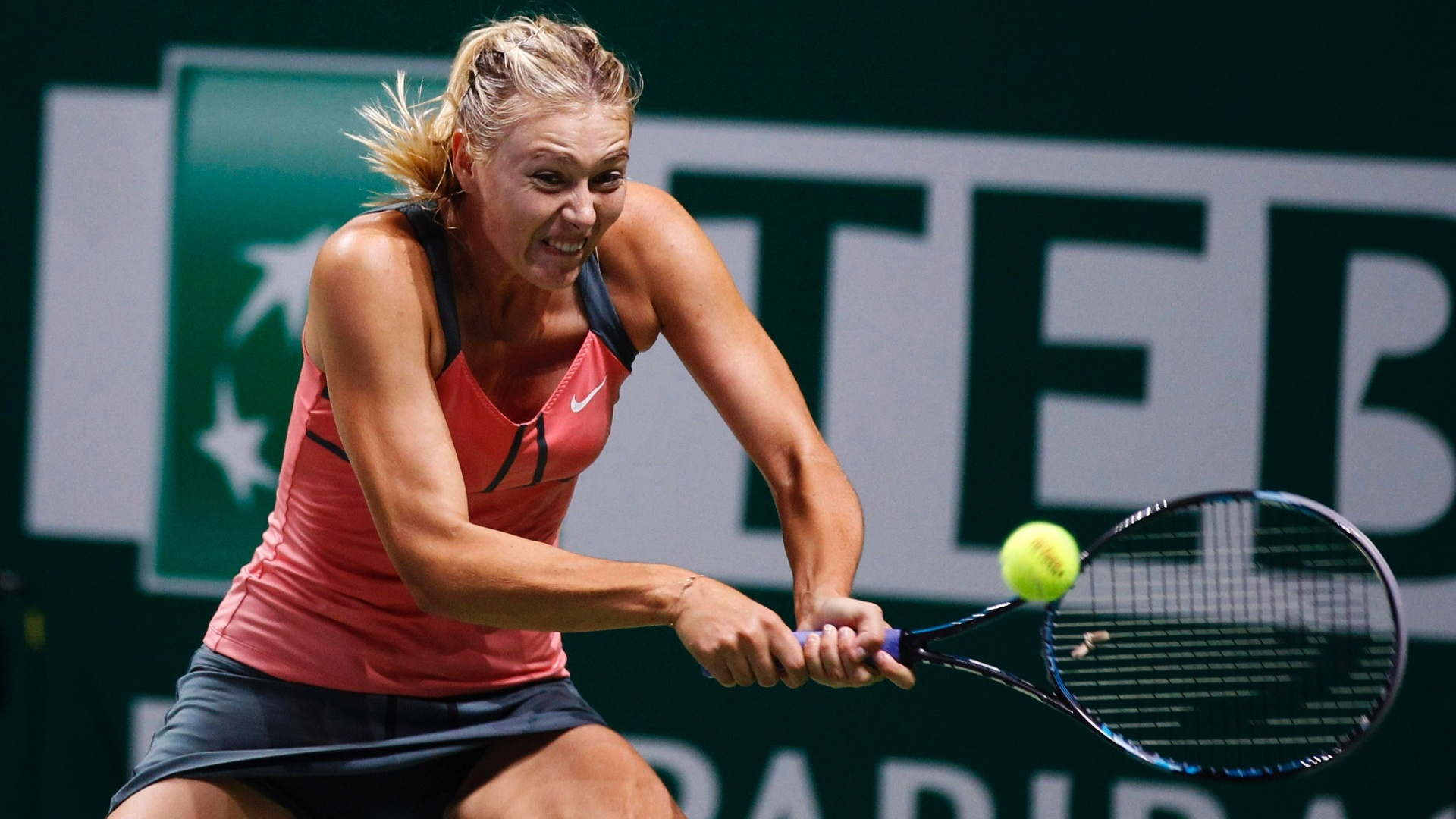 Sharapova ficou com o vice-campeonato no ltimo torneio da temporada