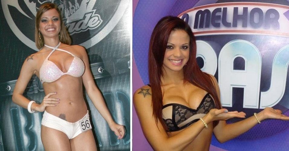 """29.out.2012 - Victória Villarim, 19 anos, foi a Garota Fitness Brasil 2010. Hoje ela é assistente de palco do programa """"O Melhor do Brasil"""", na Rede Record"""