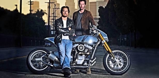O protótipo da KR GT-1 surgiu de uma parceria entre o customizador Grad Hollinger e Keanu Reeves