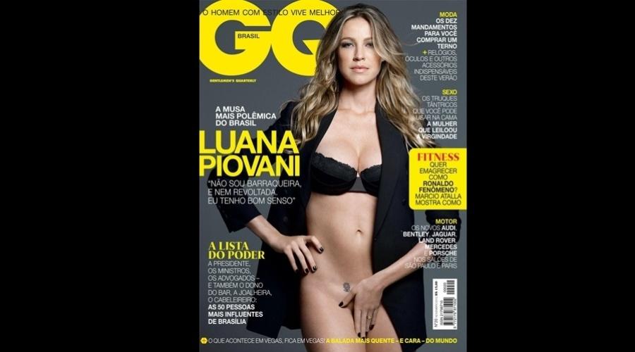 Luana Piovani é a estrela da edição de novembro da revista