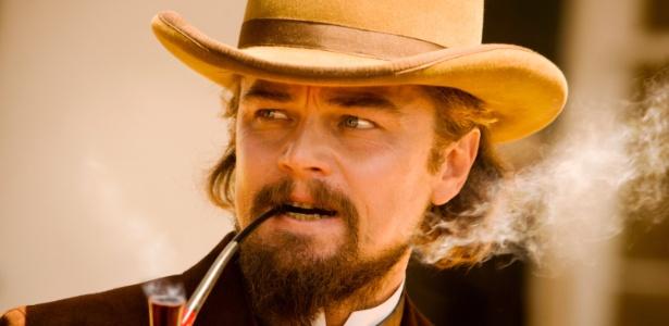 """Novas imagens de """"Django Livre"""", novo longa de Quentin Tarantino foram divulgadas (29/10/12). O ator Leonardo DiCaprio está no elenco"""