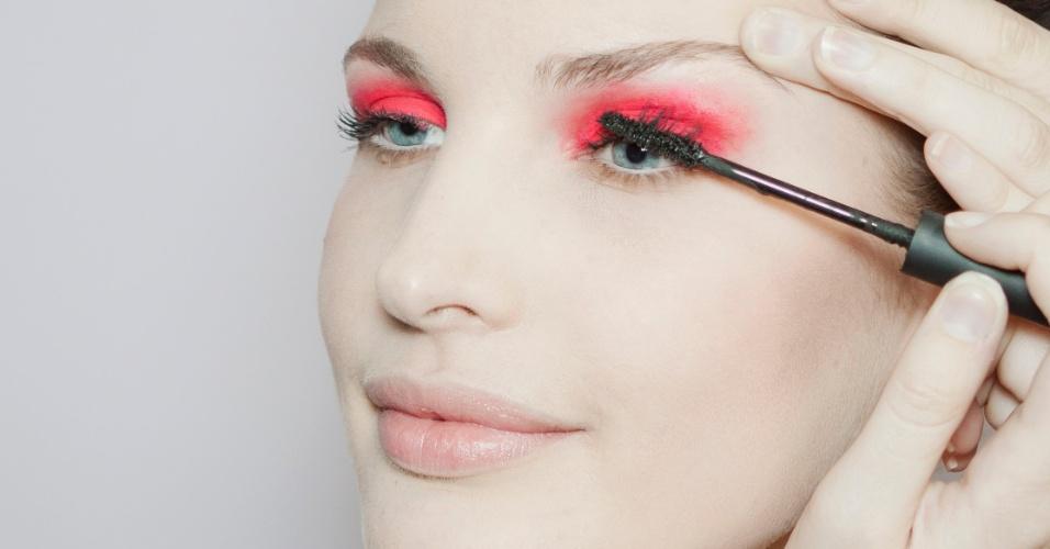 sombra pink - máscara de cílios