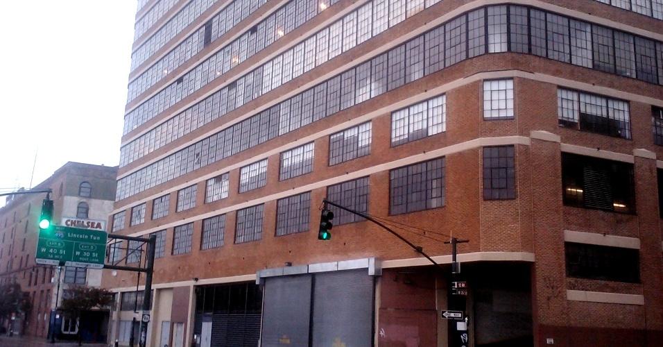 30.out.2012 - O internauta José Risomar Fontes, de São Paulo (SP), mora no bairro de Chelsea, em Manhattan, Nova York, e mandou essa foto de rua que fica próxima ao Rio Hudson