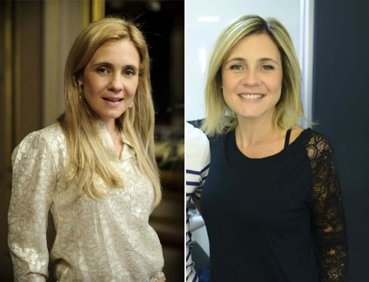 Adriana Esteves corta os cabelos Carminha