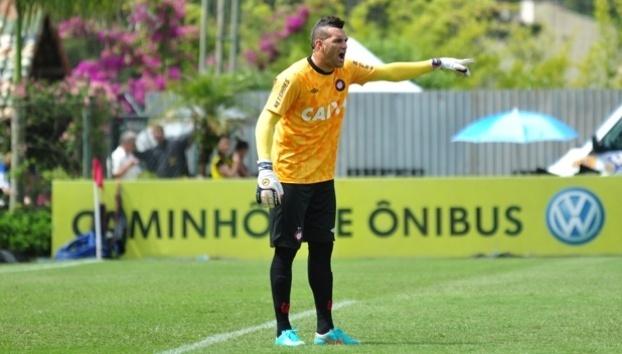 Weverton, goleiro do Atlético-PR