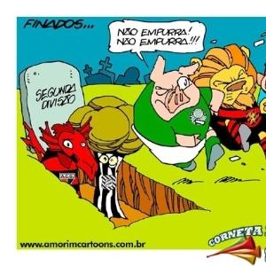 Corneta FC: No Dia de Finados, times do Z-4 já estão com um pé na cova