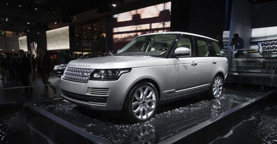 Range Rover Vogue 2013 é uma das atrações da Jaguar Land Rover no Salão de São Paulo 2012