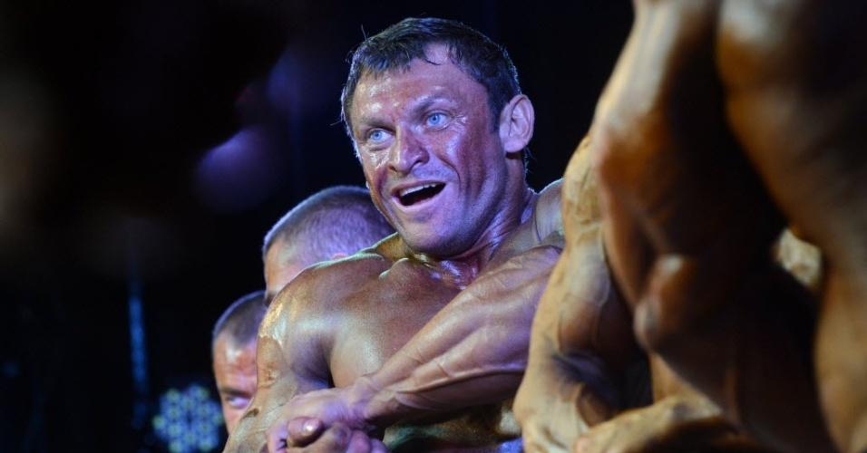 Fortões do fisiculturismo se reúnem na Rússia para a realização da Bodybuilding Champions Cup, em Moscou