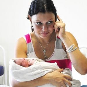 Pâmela de Oliveira Lescano, 17, entrou em trabalho de parto antes do início da prova do Enem 2012