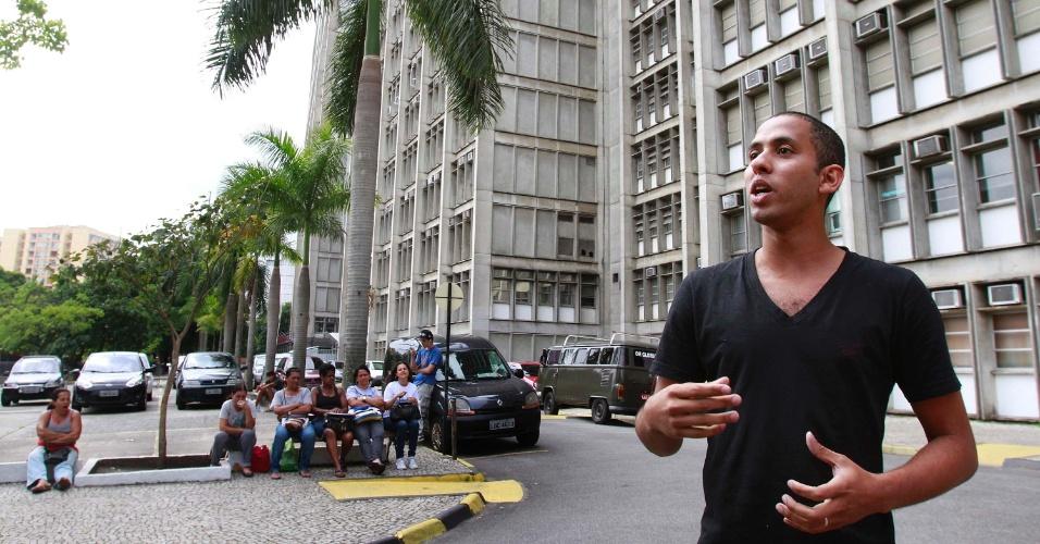 4.nov.2012 - Bruno Soares da Silva, que fez a prova do Enem 2012 no Rio de Janeiro, teve algumas dificuldades na redação