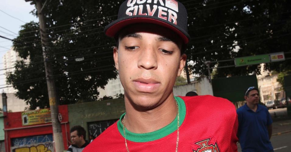 4.nov.2012 - Charles Alves, 18, de São Paulo, achou que as provas de ontem estavam mais difíceis.