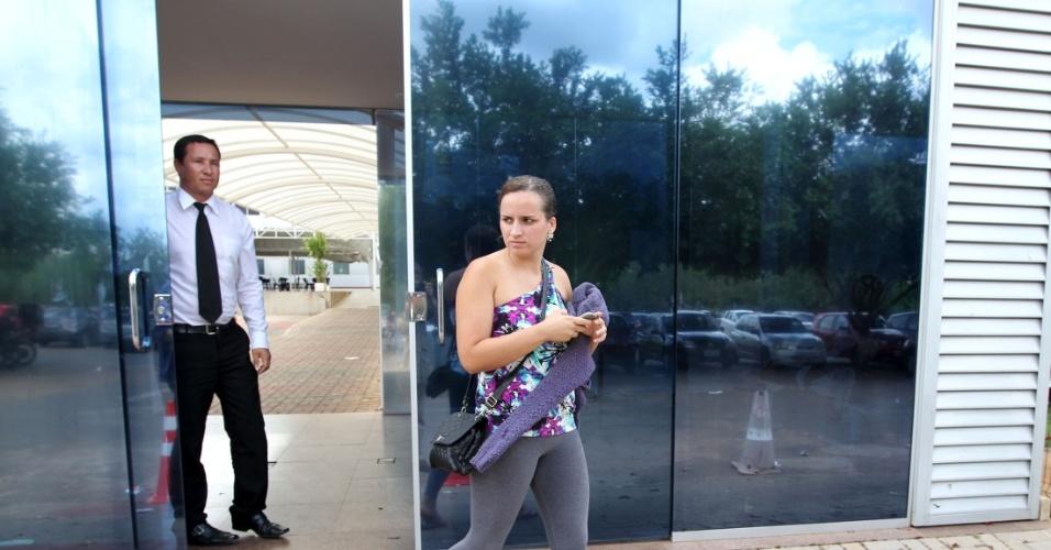 4.nov.2012 - Jessica Ferreira Cabral, 21, está tentando o curso de Biologia, em Brasília.