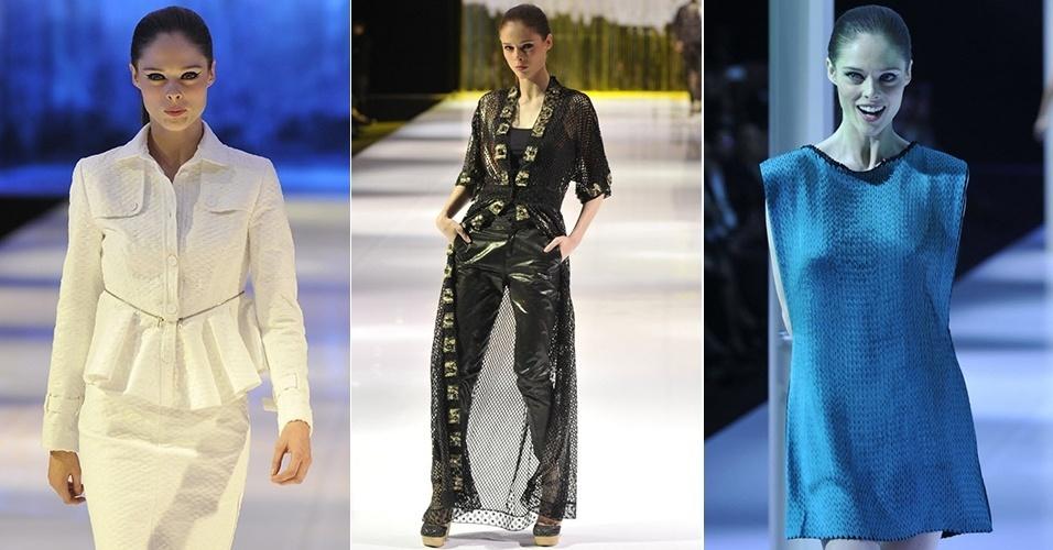A top canadense Coco Rocha foi o destaque da semana de moda de moda do México, realizada na Cidade no México. Ela desfilou para as marcas Rolando Santana, Custo Dalmau e Pepa Pombo (04/11/2012)