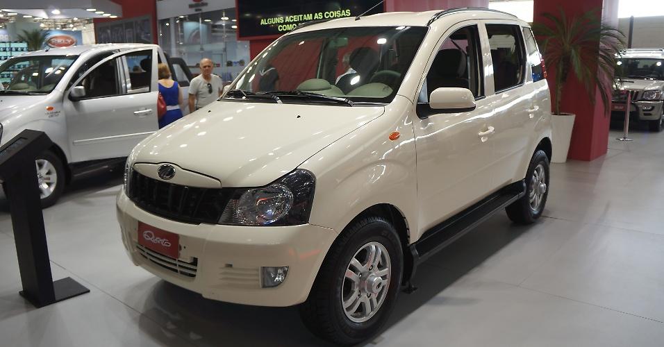 Pouco movimento ao redor do indiano Mahindra Quanto, opção 4x4 que chega em 2013 para o segmento de Ford Ecosport, Renault Duster, Hyundai Tucson e Mitsubishi TR4