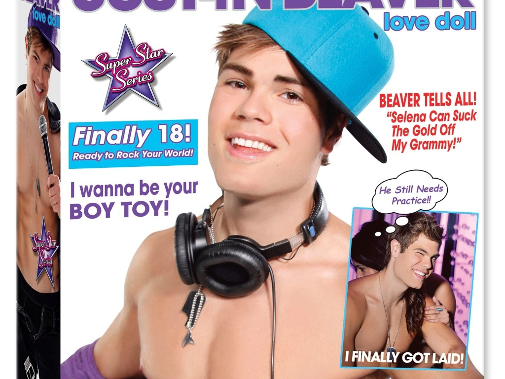 Boneco inflável de Justin Bieber é lançado nos Estados Unidos por US$ 26
