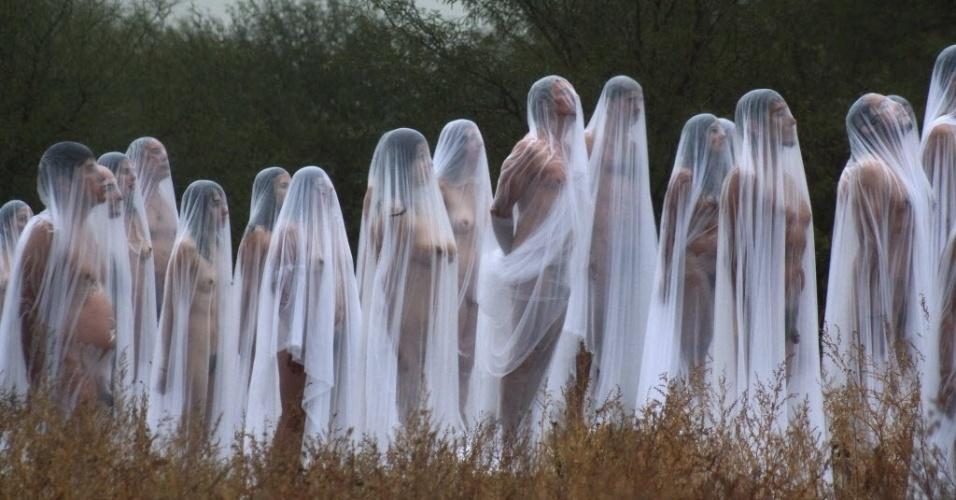 """Fotógrafo clica """"pelados fantasma"""" no México."""