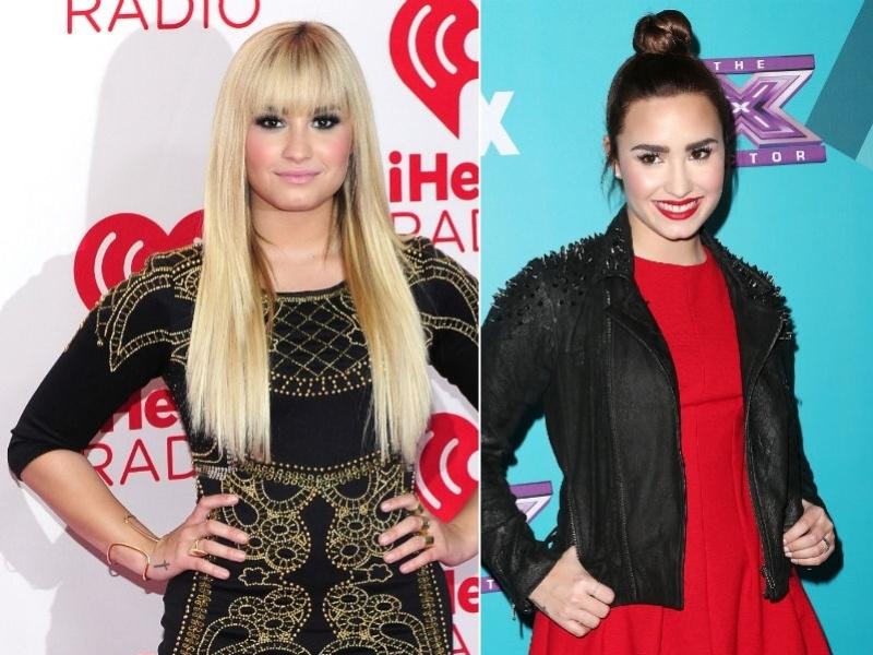 Demi Lovato morena de novo