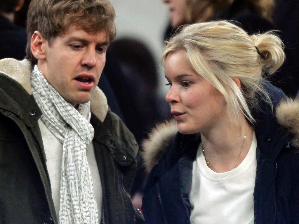 Sebastian Vettel  Piloto De F  Rmula 1  E Sua Namorada  Hanna Prater