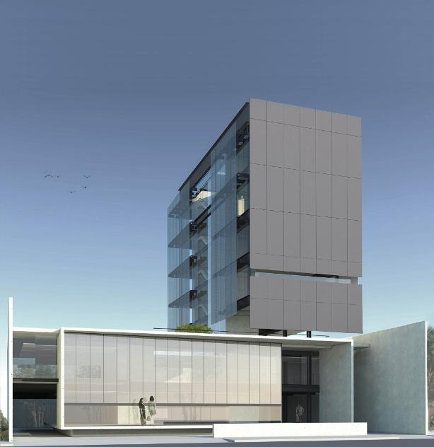 "Categoria Edifício - Projetos, prêmio ""Carlos Barja Milan"": ""Sede de Construtora e Loja de Móveis"", desenhado por Luciano Margotto"
