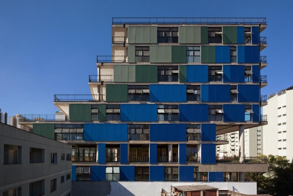 """Categoria Edifício (destaque): """"Edifício João Moura"""", criado por Lua Nitsche e Pedro Nitsche"""